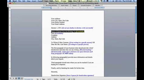 Business Letter Writing Language how to write a business letter