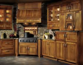 Rustic Kitchen Furniture by Hickory Kitchen Cabinet Pictures And Ideas