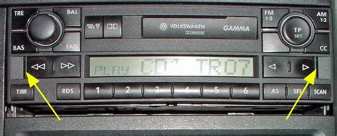 Audi Gamma Code Eingeben by Radio T4 Wiki