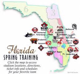 mlb map florida major league baseball cs in florida