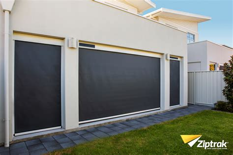 backyard blinds inviron group ziptrak blinds adelaide cafe blinds