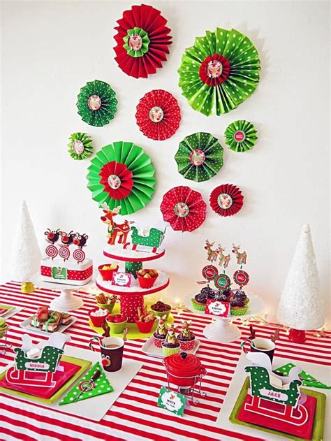 host a christmas ornament making party 139 best entertaining images on centerpiece ideas and