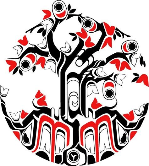 pacific northwest tattoo designs haida tattoos of the pacific northwest i17 jpg 611 215 682