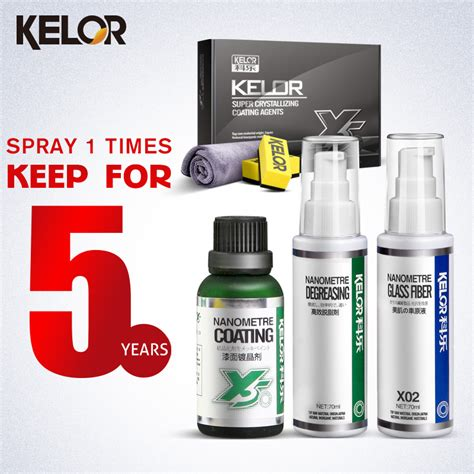 Kelor Paint Car Color Repair covers Glass Coating Car Wax