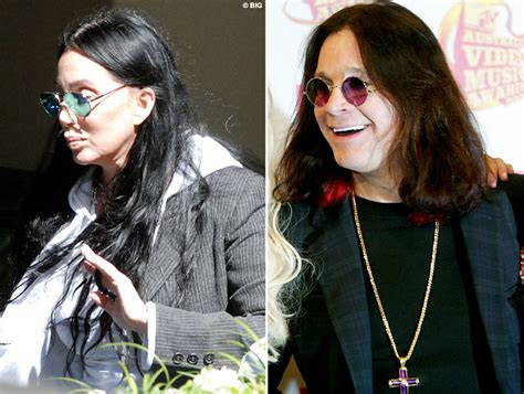 No Make Up Leaves Cher Looking Just Like Ozzy Osbourne no make up leaves cher looking just like ozzy osbourne