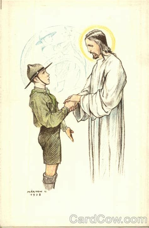 with jesus boy scout speaking with jesus boy scouts