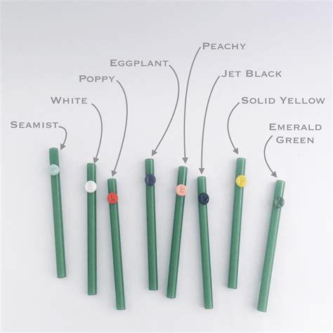 Glass Straw personalized colored glass straw strawesome