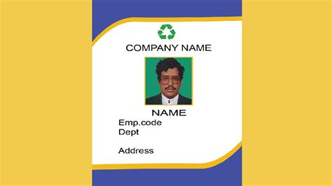 template i got my library card today how to create an id card in photoshop with esubs