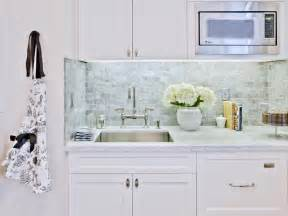 White Kitchen Backsplash Tile Ideas Happy White Kitchen With Subway Tile Backsplash Cool