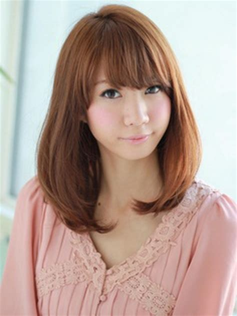nice koran hairstyles japanese medium hairstyles