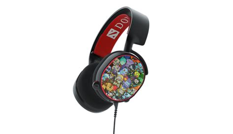 Steelseries Arctis 5 Dota 2 Limited Edition 7 1 Gaming Headset 61445 steelseries introduces the arctis 5 dota 2 edi steelseries