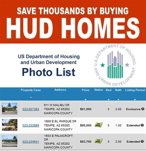 arizona hud homes