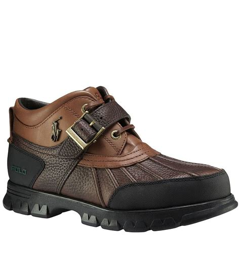 polo boats polo ralph lauren dover iii men 180 s rugged boots dillards