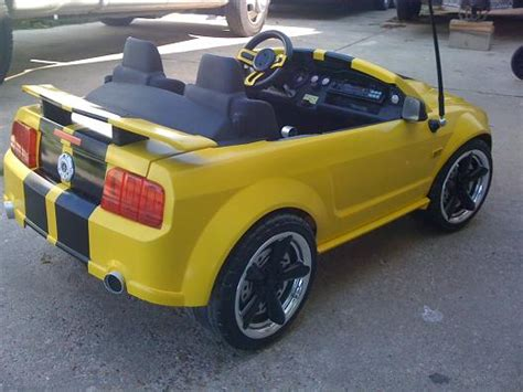 mustang power wheels modified power wheels finally finished the mustang