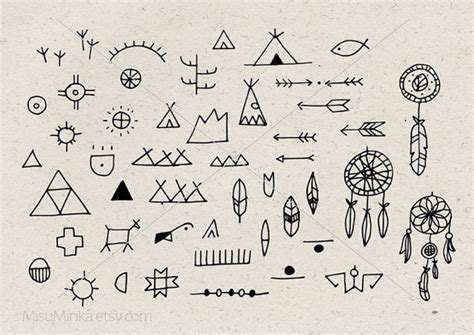 doodle stationery india doodle american indian symbol clip