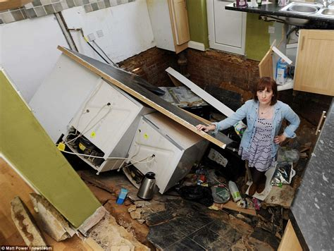 Floor Collapse by Devastated After Moving Into Their Home