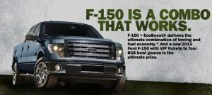 Ford F150 Sweepstakes - ford f150 bcs ultimate tailgate sweepstakes