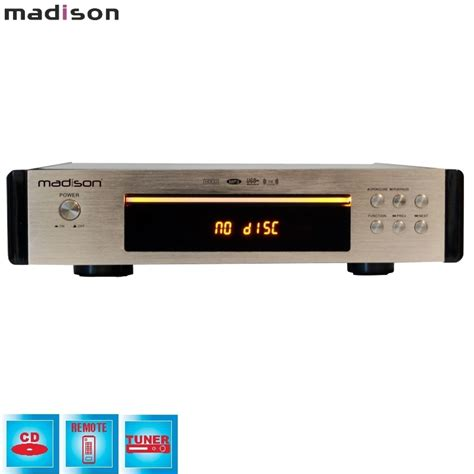Tuner Mad by Lecteur Cd Tuner Usb Ibiza Mad Cd10 Audioclub Fr
