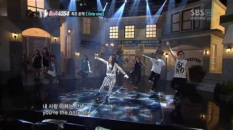 boa the live 06 hd live hd 720p boa only one ft yunho sbs inkigayo
