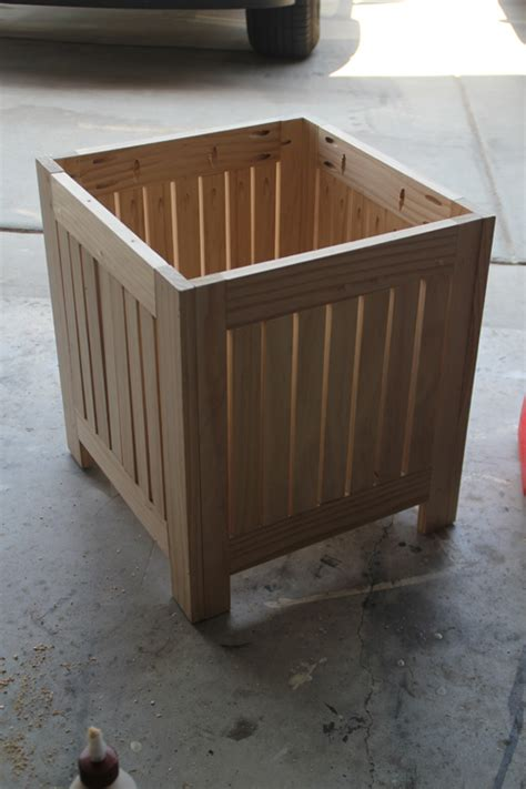 Diy Patio Side Table by Hton Umbrella Side Tables Shanty 2 Chic