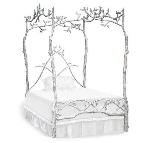 forest canopy bed forest dreams canopy bed by corsican iron furniture