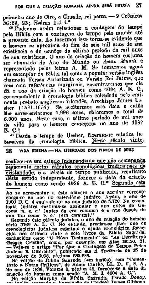 30. Especulação Profética do Corpo Governante Para 1975 (1)