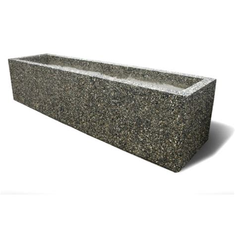 Rectangular Planter by Rectangular Concrete Planters Bc Site Service
