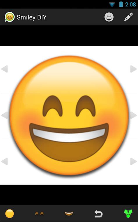 text icons for android smiley faces for android messaging