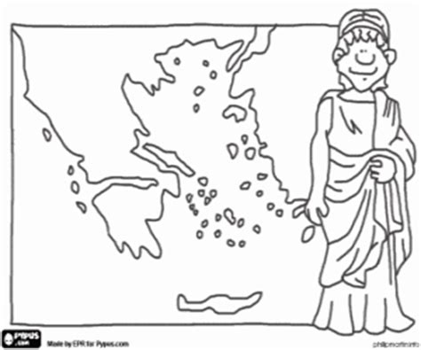 greek map coloring page ancient greece coloring pages printable games