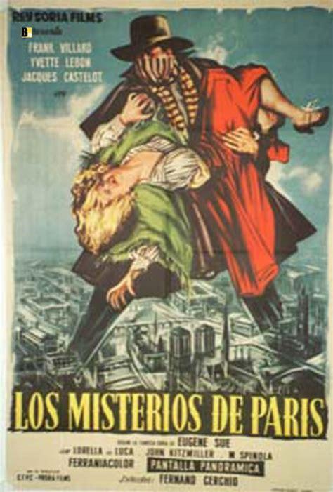misteri film legion quot misterios de paris los quot movie poster quot i misteri di