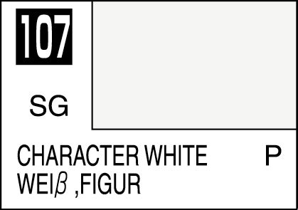 Mr Color C107 Character White Mr Hobby Lacquer Paint mr color paint character white 10ml c107 gsi c 107 gunze sangyo mr hobby