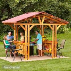 Backyard Buddy Shed Grill Gazebo Plans Make A Grillzebo The Family Handyman