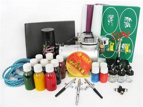 home tattoo kit airbrush kits golden china manufacturer