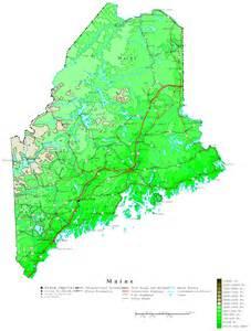 map us maine maine contour map