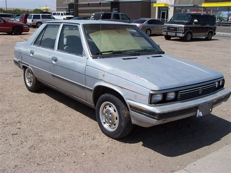 1983 renault alliance curbside classic 1986 renault alliance patina royale