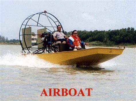 fan boat horsepower thai airboats