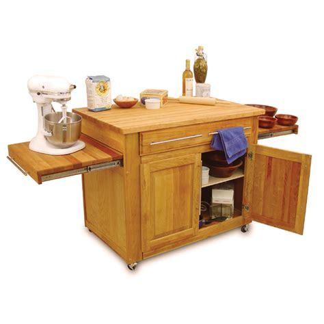 butcher block portable kitchen island catskill empire kitchen island pull out leaves