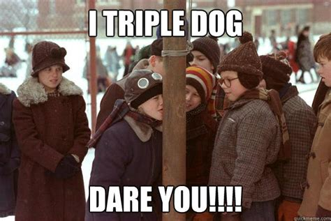 I Double Dare You Meme - a christmas story the eclectic poet