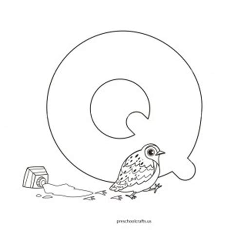 preschool coloring pages letter q letter q coloring pages for kids preschool and kindergarten