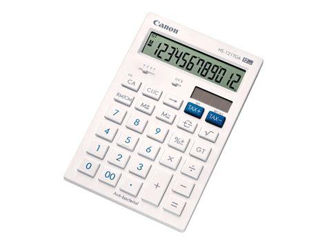 calculatrice de bureau canon hs 121tga calculatrice de bureau calculatrices