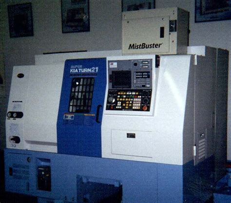 Kia Machine Tools Air Filtration Systems See The Mistbuster Mist Collector