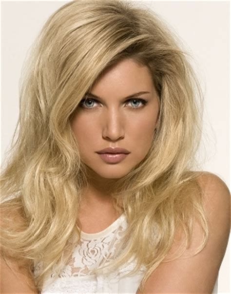 are roots with blonde hair in style dark roots blonde hair styles