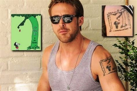ryan gosling tattoo gosling s 5 tattoos their meanings guru