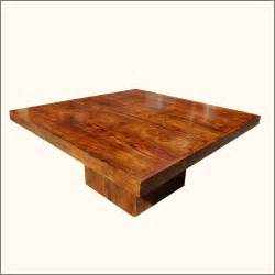 Solid wood square pedestal dining table for 8 people furniture ebay