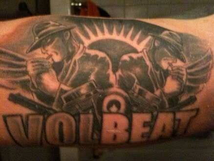 volbeat tattoo volbeat metal heavy metal