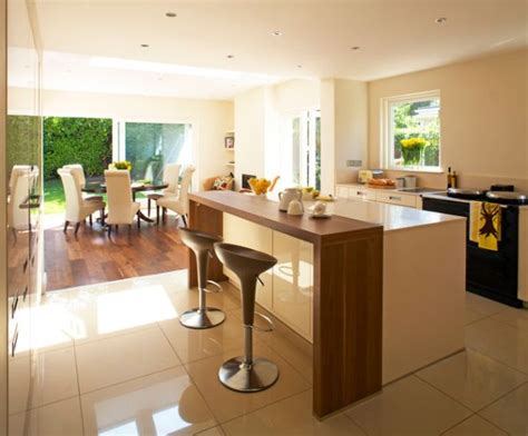 kitchen designs with islands and bars how to design a contemporary breakfast kitchen