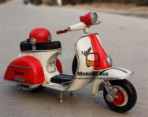 Helm Catok Retro Motor Klasik Model helmet classic motorcycle model 100 handmade iron sheet model vespa 1 12 retro metal