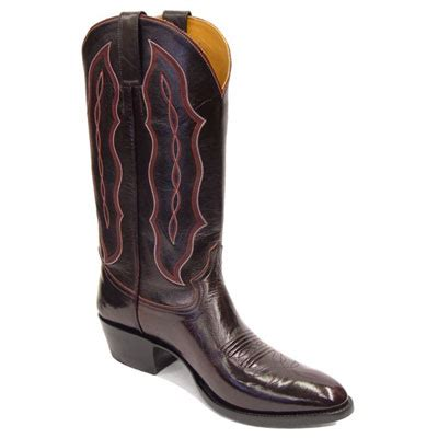 Handmade Leather Cowboy Boots - smooth leather handmade cowboy boots otp ca