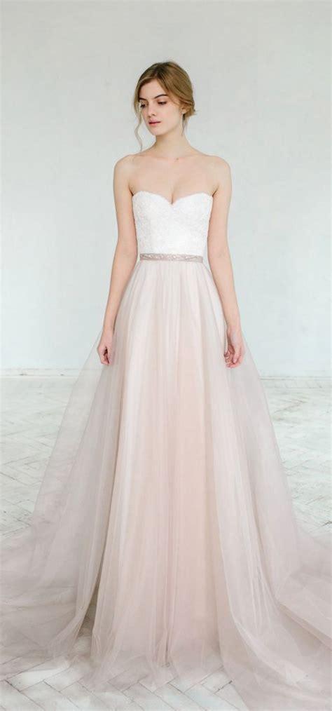 hochzeitskleid blush blush hochzeitskleid in zartrosa braut brautkleid