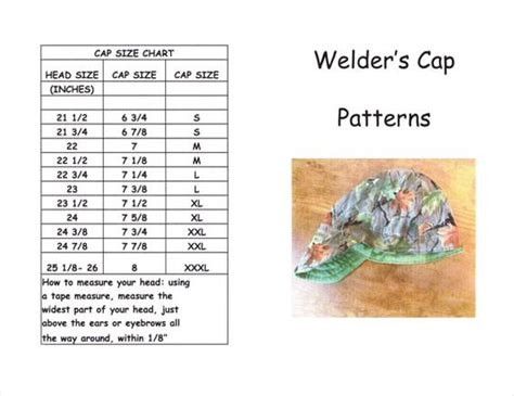 pattern to sew a welding cap awesome crowns and shorts on pinterest